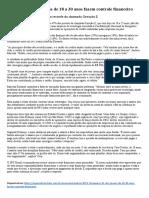 Texto 1 - Educação financeira