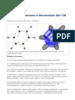 INOVAÇÃO TECNOLÓGICA (2020) Estrutura do benzeno é desvendada; Em 126 dimensões [artigo]