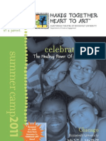 Hands Together, Heart to Art Camp 2011 Brochure - English