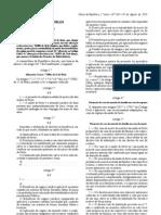 lei união de facto 2010