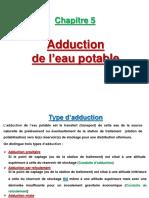 5- Adduction de l'Eau Potable