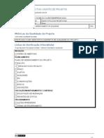 Modelo de Plano de Gerenciamento da Qualidade do Projeto