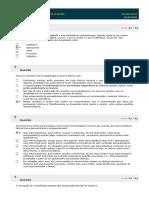 Gabarito - Psicopatologia I