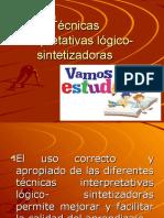 Técnicas interpretativas lógico- sintetizadoras