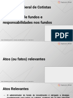 Assembléia Geral de Cotistas _ Convocação _ Segregação de Fundos e Responsabilidades Nos Fundos (1)