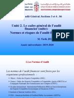 Cadre général de l'audit   financier