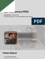 Tips Wawancara PPDS fix