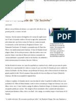 """[Zé Sozinho] Regional - Cariri se despede de """"Zé Sozinho"""" - Diário do Nordeste"""