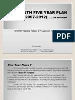 Eleventh plan (2007-2012)