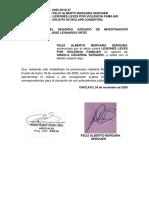 Agresiones en Contra de Las Mujeres o Integrantes Del Grupo Familia - BERGARA SERQUEN - CONSENTIDA O EJECUTORIADA