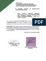 Agresiones en Contra de Las Mujeres o Integrantes Del Grupo Familia - BERGARA SERQUEN