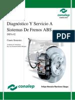 Diagnóstico y Servicio Frenos ABS-