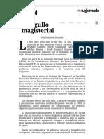 La Jornada_ Orgullo magisterial
