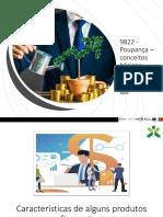 9822 - Características de alguns produtos financeiros