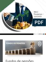 9822 - fundos de pensões