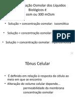 Tônus celular e Diálise