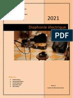 Diaphonie électrique