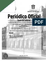 Gaceta del Gobierno del Estado de México 4 de junio