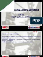 NR 35 - Trabalho em Altura Stahllog