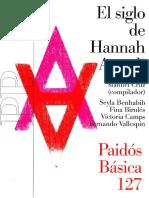 Manuel Cruz (Compilador) - El Siglo de Hannah Arendt (2018)