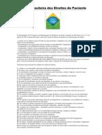 Carta Brasileira dos Direitos do Paciente