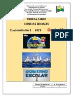 PRUBA SABER 4°CIENIAS SOCIALES  2021