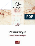 3770-L'esthetique - Talon-Hugon Carole