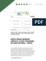 PROAC EXPRESSO 37.2021