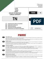 Catalogo Ricambi Tn100 s.06 Tn120 s.05