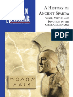 A History Of Ancient Sparta - Valor, Virtue, And Devotion In Gloden Age Greece Guidebook