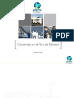 Observateurs et filtre de kalman