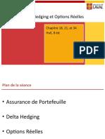 Sc3a9ance 11 Assurance Hedging Et Options Rc3a9elles
