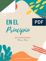 GÉNESIS GUÍA CHICOS Y CHICAS