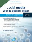 Brochure Social Media voor de publieke sector