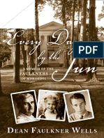 Every Day by the Sun by Dean Faulkner Wells - Excerpt
