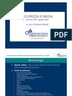 Osservatorio Pavia - sicurezza e media2009