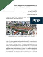 Proyecto de Restauracion Patrimonial Con Sostenibilidad Ambiental en La Creacion Del Parque de La Estacion