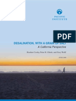 DESALINATION, WITH A GRAIN OF SALT (CA, 2006)