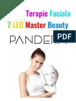 Manual de Utilizare Masca 7 Led