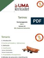 Farmacognosia  Taninos