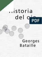 """Bataille, Georges, """"Historia del ojo"""""""