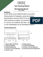 Bedienung Doggingstation HDD-SSD