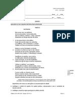 ASA_Sentidos11_Teste_avaliação importante Maias