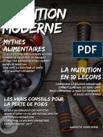 La Nutrition Moderne