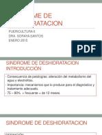 Sindrome de Deshidratación PED