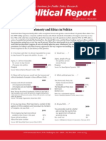 Political Report March 2010