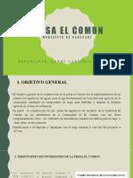 PRESA EL COMUN