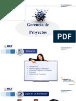 Clase 1.1. Gerencia de Proyectos.UCT