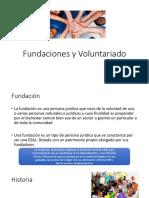 Fundaciones y Voluntariado