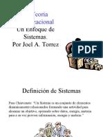 Unidad 2 La Teoria Organizacional (Un enfoque de sistemas)